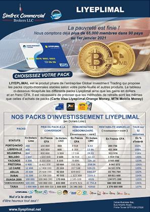Gagnez dans le trading de cryptomonnaies avec Liyeplimal